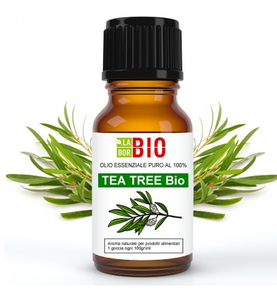 Olio essenziale puro Tea tree